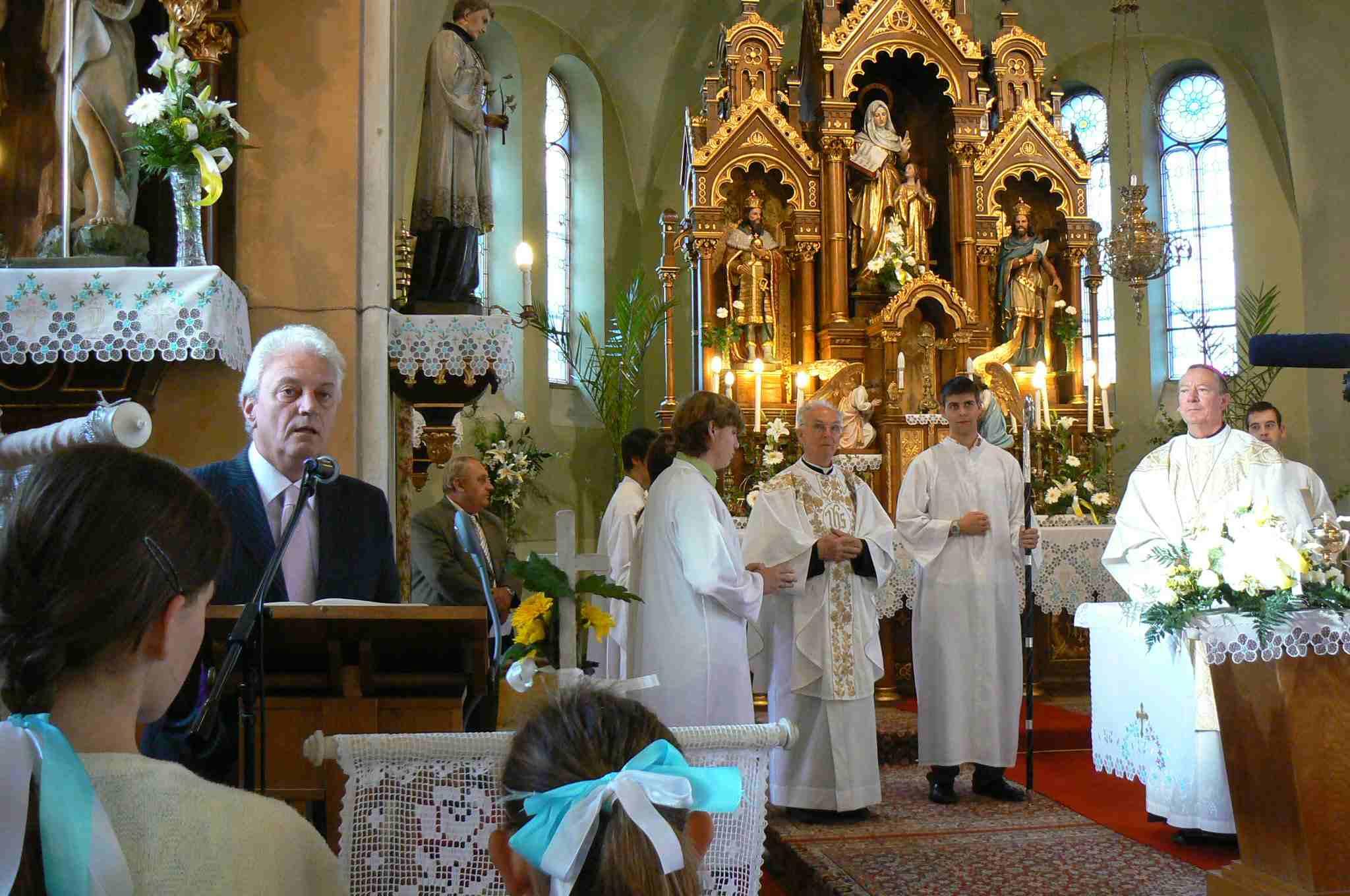 Köszöntése a szentmise elején