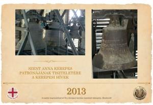 2013-as karitász naptár a jubileumi év eseményeinek képeivel